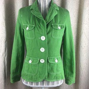 Spring jacket Boden blazer green size 8